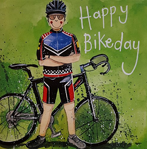 man-bicycle-birthday-card-road-racer-by-alex-clark