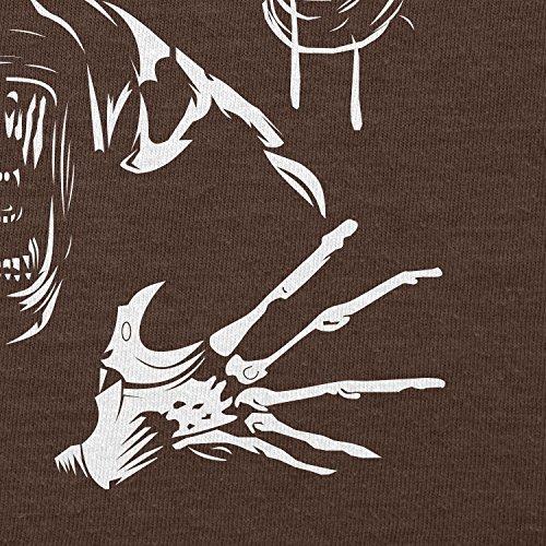 Texlab–The Extraterrestrial Queen–sacchetto di stoffa Marrone