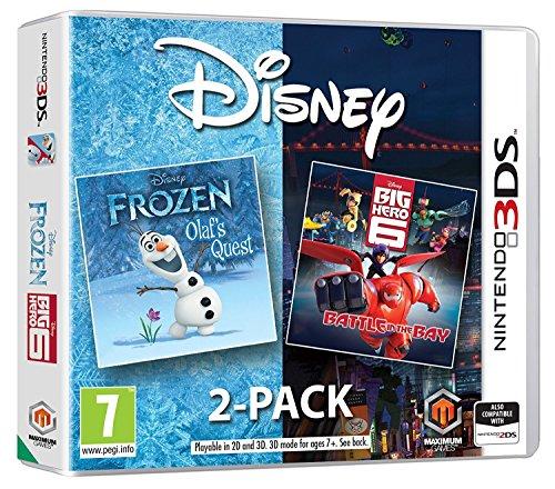 Disney Frozen Big Hero 6 Double pack (Nintendo 3DS) UK IMPORT