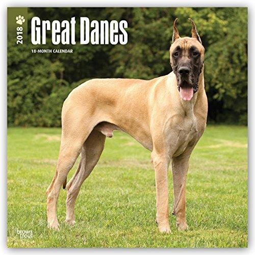 Descargar Libro Great Danes - Dänische Doggen 2018 - 18-Monatskalender: Original BrownTrout-Kalender -  mit freier DogDays-App de Browntrout Publishers