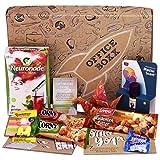 Office-Boxx (13 Teile) Büro Geschenk für Kollegen & Mitarbeiter - mit Neuronade, gesunden Snacks, Ohropax & Konzentrationshilfen