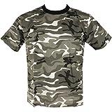 Mens Camo Military/Army T-shirt 100% Cotton (X-Large, Urban Camo)