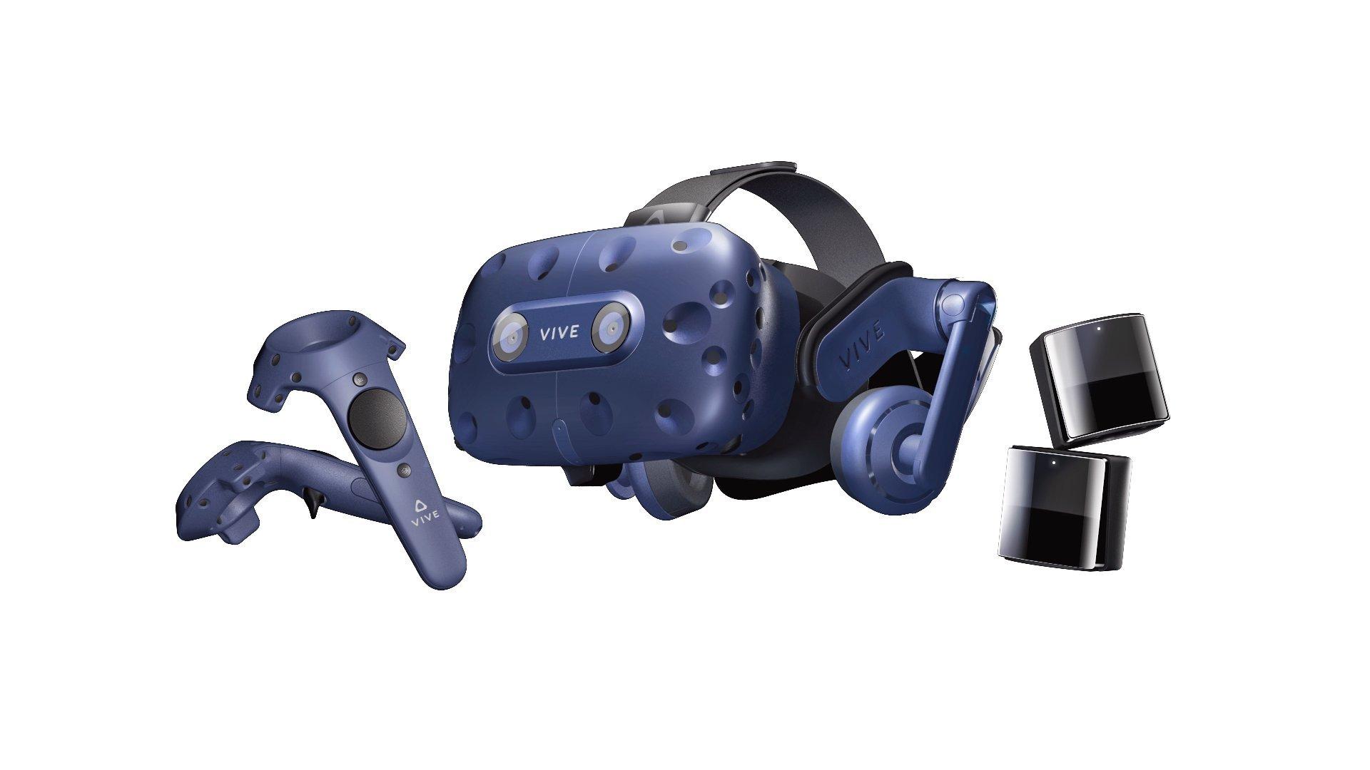 HTC Vive Pro Complete Edition – Casque de réalité virtuelle – kit VR complet (Catégorie : Casque Réalité Virtuelle)