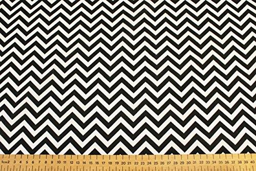 Chevrons/zigzags - Design Imprimé Poly coton tissu