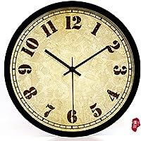 nllpjmf casa e cucina orologi orologio da parete, Black border, ca. 20 cm