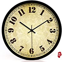 nllpjmf casa e cucina orologi orologio da parete, Black border, ca. 20 cm - Disney Wall Hanging