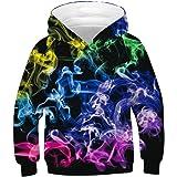 Shin Fashion 3D Printed Boys Girls Pull Over Casual Hoodie Sweatshirts