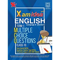 Xam Idea CBSE MCQs Chapterwise For Term I, Class 10 English (With massive Question Bank and OMR Sheets for real-time…