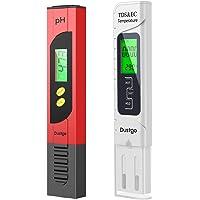 Dustgo Tester PH/TDS&EC 2 in 1 Set Misuratore Digitale della qualità dell'Acqua Multi-Funzione Compensazione Automatica…
