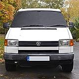 Fit VW TRANSPORTER T4parabrisas delantero cortina funda protectora negra