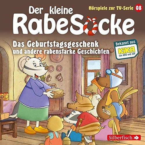 Preisvergleich Produktbild Das Geburtstagsgeschenk,  Das Superfernrohr,  Der Erfinderwettbewerb: 1 CD (Der kleine Rabe Socke - Hörspiele zur TV Serie,  Band 8)