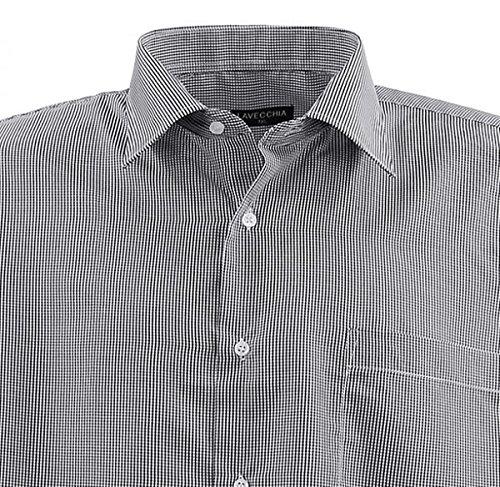 Lavecchia -  Camicia classiche  - Con bottoni  - Uomo Dark-White
