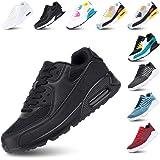 Scarpe Ginnastica Donna Sneakers Uomo Corsa Strada Running All'Aperto Sportive Respirabile Mesh Casual Allacciare Calzature B