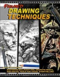 Framed Drawing Techniques - Mastering Ballpoint Pen, Graphite Pencil, and Digital Tools for Visual Storytelling
