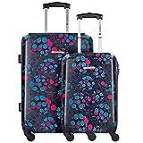 Gabol Clover maletas 4 ruedas set de 2 pzs.