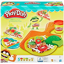 Hasbro Play-Doh B1856EU4 - Pizza Party, Knete