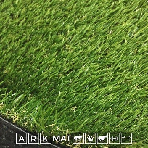 ARKMat Oaks Erba Sintetica Altezza 3cm Misura 4 x 4 Metri Doppio Colore Effetto Reale Drenante e Resistente Raggi UV