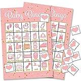 Bingo-Spiel für Babyparty, mit Aufschrift