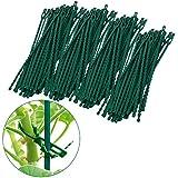 Multifonction réutilisable en plastique attaches réglables pour plantes (200)