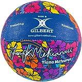 Gilbert Unterschrift Tiana Metuarau Netzball - Blau/Multi - Mehrfarbig, Size 5