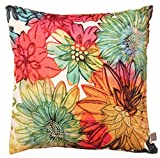 Air Castle- Home Decore- Polyester & Polyester Blend- Floral Hand Painted Cushion Cover best price on Amazon @ Rs. 789