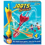 POOF-Slinky 0X0878 Ideal Jarts Splash Target Dart Game for Pools by Ideal TOY (English Manual)