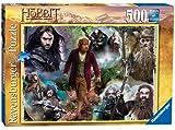 Ravensburger El Hobbit: Bilbo y sus compañeros - Puzzle (500 piezas)