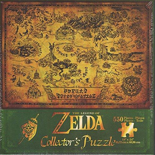 Zelda 599386031 - Puzzle Legend of Mapa Hyrule 550