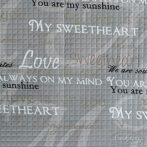 Tagesdecke 220x240 cm Lenny Karomuster Grau Weiß Beige Bettüberwurf Decke My Sweetheart