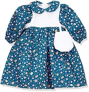 Sturm 2620-3 - Vestido de muñeca con Bolsillo para muñecas, Color Azul