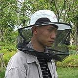Pesca Al Aire Libre Noche Sombrero De Pesca Protección Contra Insectos Protección Contra Mosquitos Sombrero De Protección Solar Hombre Y Mujer Gorras A Prueba De Abejas Máscara De Sombrilla Transpirable