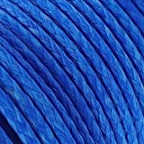 EMMAKITES 200lb 31Meter Kite Line String Blue UHMWPE High Module Polyethylene for Kite Flying Fishing General Outdoor Purpose - High Strength Resistant to Moisture, UV, Abrasion