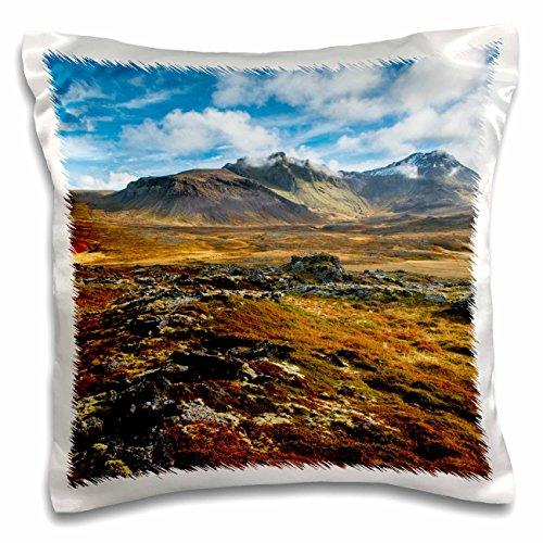 Danita Delimont - Mountains - Iceland, Snaefellsnes Peninsula. Autumn colors on the landscape. - 16x16 inch Pillow Case (pc_206733_1)