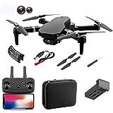 E58 Pro drone met camera, 4K/1080P HD, wifi, FPV, RC Pocket Quadrocopter app-bediening, automatische start/landing/hoogtehoud