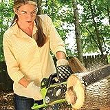 Greenworks G-MAX 40V Akku-Kettensäge 20077, 40 cm Schwertlänge ohne Akku und Lader - 5