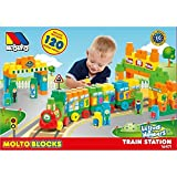 MOLTO Blocks - Tren, 120 Piezas 16471
