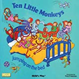 Ten Little Monkeys Jumping on the Bed (Classic Books with Holes Board Book)