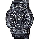 G-Shock-GA-1A 100MRB X Marcelo Burlon-Orologio da uomo, grigio/nero, taglia unica