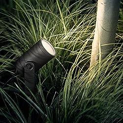 Philips Hue 3er Base Kit Led-spot Lily Schwarz Inkl. Stecker Und Hue White Color Ambiance | Hue-gartenleuchte, Spot-leuchte