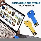 Duoinging 1PCS kreativer USB-Blitz-Hochgeschwindigkeitssperr-Schlüssel U Disk Ultra-Thin 4G / 8G / 16G / 32G Gedächtnis-Stock