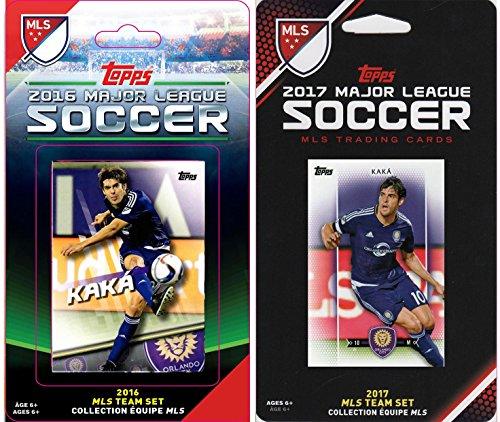 MLS Orlando FC Herren 2verschiedene lizenzierte Trading Card Team-Sets, Weiß