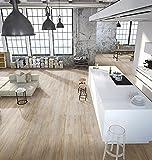 cortex Veranatura Pinie Rustikal Grau - Gesunder und umweltfreundlicher Öko-Kork-Designbodenbelag mit höchster gewerblicher Nutzklasse ohne Weichmacher - Paket a 1,8m²