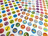 5x 280Childrens Reward Stickers for Kids motivation, Merit/Praise School Teacher Labels
