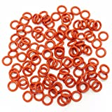 120 Noise-Dampener / O-Ring Dämpfer Rot, SOFT 45A für mechanische Cherry MX Tastaturen
