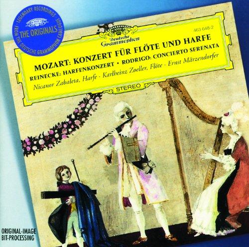 Mozart: Flute & Harp Concerto / Reinecke: Harp Concerto / Rodrigo: Concerto-Serenade