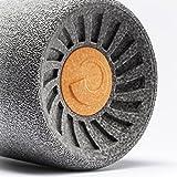 Relaxroll Faszienrolle - MaxiRoll, Metallic Silber