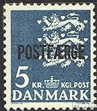 Dänemark PA44 (kompl.Ausg.) 1972 Paketmarke (Briefmarken für Sammler)