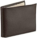 Pellcaso Money Clip Wallet For Men With 6 Card Holder Slots - Brown