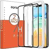 Amazon Brand - Eono Verre Trempé Compatible avec iPhone 11/XR Couverture Complète Film Protection Ecran avec Outil d'Installa
