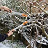 Kurtzy Tijeras de Podar Telescopicas – Telescópicas para Jardín Ramas Setos Arbustos – Cabezal de Acero Inoxidable y Cuerpo de Hierro – 67 to 105cm (26.3″ to 41.33″)
